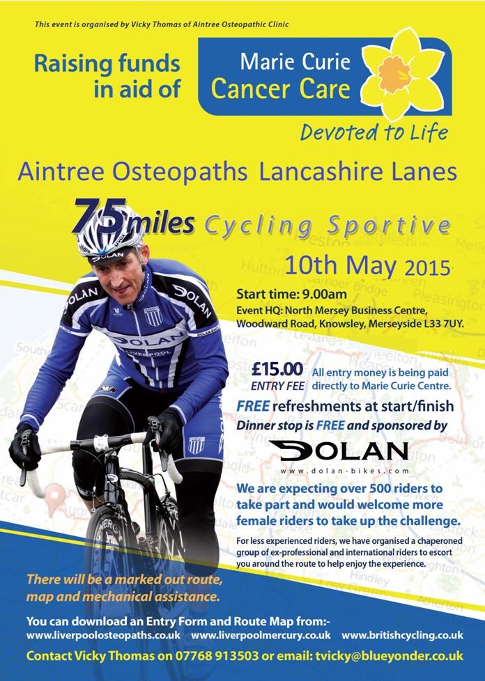 Aintree Osteopaths Lancashire Lanes Event Details